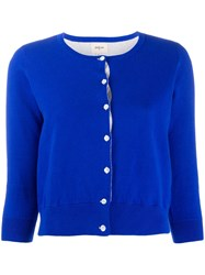 Bellerose Cropped Cardigan Blue