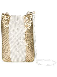 Laura B Box Disco Bag White