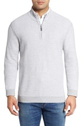 Tommy Bahama Men's Big And Tall Make Mine A Double Reversible Quarter Zip Sweater