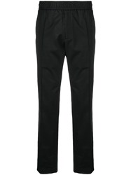 Versace Comfortable Fit Track Pants Black
