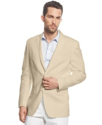Inc International Concepts Smith Linen Blend Blazer Stone Block