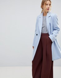 Miss Selfridge Tailored Coat Blue