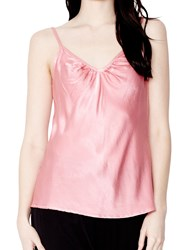 Ghost Effie Satin Cami Top Cameo Pink