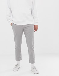 Calvin Klein Cropped Chinos Frost Gray 13 Grey