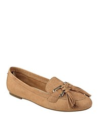 Tommy Hilfiger Hadrian Suede Loafers Tan