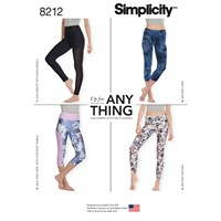 Simplicity 'S Leggings 8212