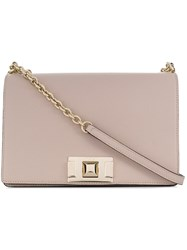 Furla Mini Crossbody Bag Neutrals