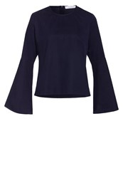 Ivy And Oak Blouse Midnight Blue