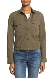 Women's Nordstrom Collection 'Tessuto' Utility Jacket