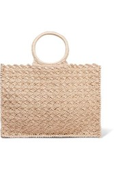Carrie Forbes Marisa Raffia Tote Neutral