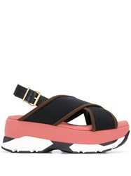 Marni Wedge Buckled Sandals 60