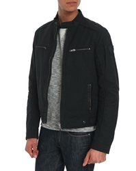 Ikks Black Biker Jacket