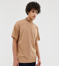 Noak T Shirt With Branded High Neck Stone