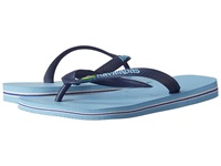 Havaianas Brazil Logo Flip Flops Lavender Blue Men's Sandals Purple