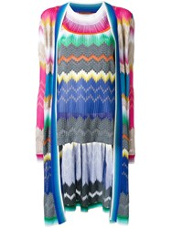 Missoni Long Cardigan Two Piece Set Multicolour