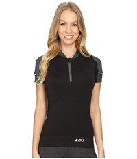 Louis Garneau Gloria Jersey Black Women's Clothing