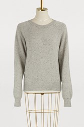 A.P.C. Striling Sweater Gris Clair Chine