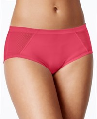 Vanity Fair Cooling Touch Crosshatch Mesh Bikini 18216 Pink Taffy