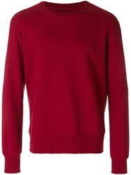 Natural Selection Round Neck Jumper Red