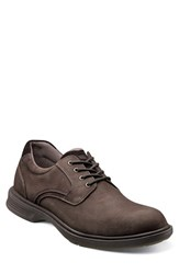 Men's Florsheim 'Ndns' Plain Toe Derby Open Brown