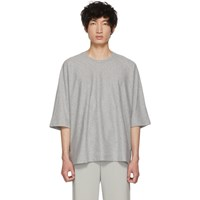 Homme Plisse Issey Miyake Grey Release T Shirt