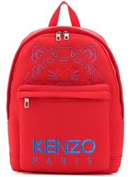 Kenzo Large Tiger Backpack Red