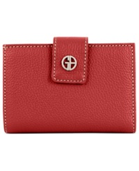 Giani Bernini Wallet Softy Leather Indexer Red