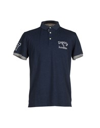 Selected Homme Topwear Polo Shirts Men Dark Blue