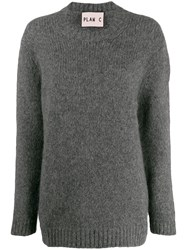 Plan C Crewneck Jumper Grey
