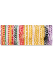 Missoni Boho Vibes Headband Yellow