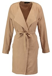 Vila Vican Short Coat Dusty Camel Beige