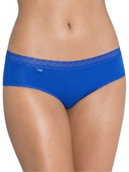 Sloggi Evernew Lace Hipster Briefs Vivid Blue