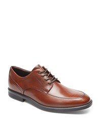 Rockport Dressports Business Leather Apron Toe Oxfords New Brown