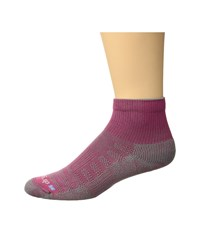 Drymax Sport Hiking 1 4 Crew 1 Pair Pink Anthracite Crew Cut Socks Shoes