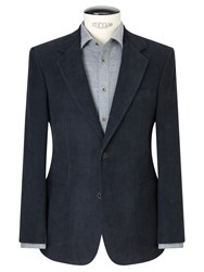 John Lewis And Co. Glympton Needle Cord Tailored Suit Jacket Whale Grey