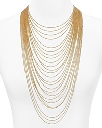 Abs By Allen Schwartz Call Of The Wild Multi Chain Necklace 16 32 Gold