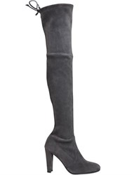 Stuart Weitzman 90Mm Highland Stretch Suede Boots