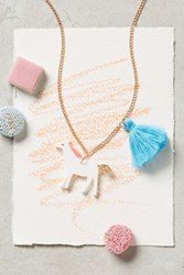 Anthropologie Playdate Necklace Horse