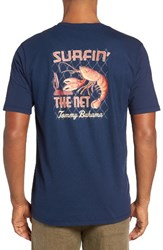 Tommy Bahama Men's Big And Tall Surfin The Net T Shirt