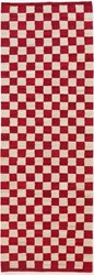Nani Marquina Melange Pattern 5 Runner Red