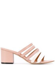Via Roma 15 Strappy Mules Pink