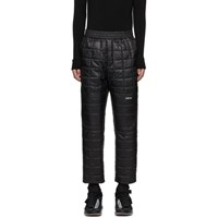 Ambush Black Quilted Lounge Pants
