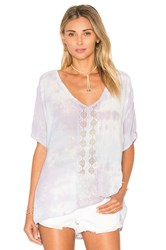 Gypsy 05 Dolman Sleeve Lace Top Lavender