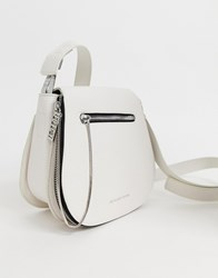 Juicy Couture Saddle Shoulder Bag White