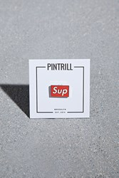 Forever 21 Pintrill Sup Pin Red White