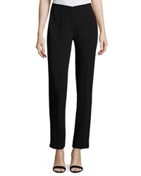 Neiman Marcus No Waist Invisible Fly Trousers Black
