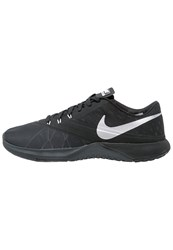 Nike Performance Fs Lite Trainer 4 Sports Shoes Anthracite Metallic Silver Black Cool Grey Pure Platinum