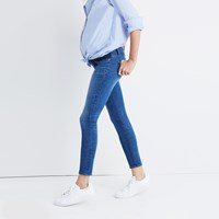 Madewell Maternity Skinny Crop Jeans In Emery Wash