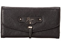 Guess Belton Slim Clutch Black Clutch Handbags