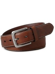 Fossil Aiden Leather Belt Brown